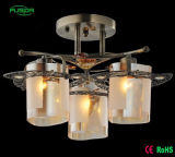 O mais vendido do teto Zhongshan Factory Pendant Light Modern Glass Chandelier Light