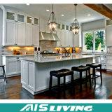 Gabinete de cozinha moderno do folheado da placa da melamina para a mobília Home (AIS-K085)