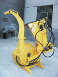 유압 Feed 100mm Chipper Tractor Wood Chipper