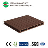 Деревянная пластичная составная доска Decking полости WPC (M165)