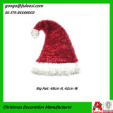 Natale Decoration Gift di Red Tinsel Hat (ZJHD-GJ-XMZ001)