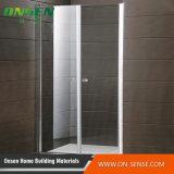 浴室のためのアルミニウム通りがかりのドアのシャワー・カーテンのドア