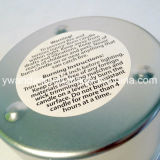 Nueva vela perfumada de la cera de la soja del diseño en lata