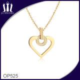 다이아몬드를 가진 OEM 디자인 심혼 애인 금 모조 보석