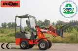 Everun 0.8 Ton Mini Wheel Loader для Sale