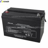 batería de almacenaje 12V100ah para los sistemas de reserva con la vida útil 12years