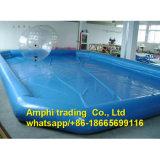 Nueva piscina al por mayor vendedora caliente de la familia, la piscina inflable más grande para el parque del agua