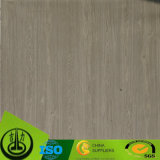 Papel decorativo del grano de madera Satisfied del diseño