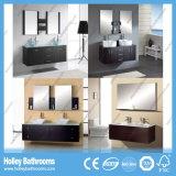 High-Gloss Lack-Speicherplatz-großes doppeltes Bassin-Badezimmer eingestellt (BF116D)