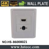 Heiße verkaufen86 Schweißens-Wand-Platte der Art-HDMI S am Endevideo