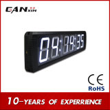 [Ganxin] elektronischer Digitaluhr-Wand-Taktgeber mit Zeit und Stoppuhr-Bildschirmanzeige-Taktgeber