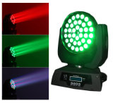 36*10W LED RGBW 이동하는 맨 위 단계 빛