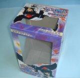 Rectángulo acanalado pila de discos impreso de la caja de embalaje con la ventana