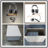 Auriculares de rádio em dois sentidos da aviação/ruído sustentação à terra que cancela auriculares
