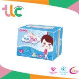 Het Maandverband van het Merk TCL, de Sanitaire Handdoek van Sanitay van het Anion/Economisch/Super Absorptievermogen