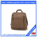 Малый мешок плеча мешка iPad рюкзака Backpack холстины