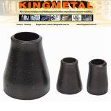 Reductor del tubo de acero de carbón del negro del espesor de pared de 4 pulgadas