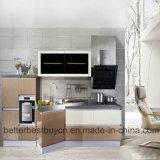 Gabinete de cozinha popular da alta qualidade do projeto para a venda