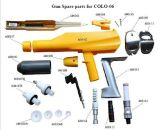 Piezas de recambio manuales del arma del polvo de Gema