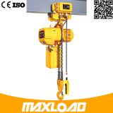 1 Tonnen-elektrische Kettenhebevorrichtung, elektrische Laufkatze-Art-elektrische Hebevorrichtung von Shanghai