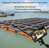 Portable 5 Meter-teleskopische Pole-Unterwasserinspektion-Kamera mit Videoaufzeichnung mit Speicherung 64GB