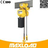1 de Kraan van de ton/het Elektrische Hijstoestel van de Ketting/Mini Elektrisch Hijstoestel 1000kg