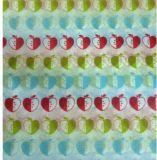 Papel de tejido impreso insignia de encargo