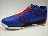 Chaussures de basket-ball bleu-foncé d'unité centrale de l'air des hommes