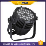 Stufe Decoration Rgbwauv 6 in 1 18X18W LED PAR Light