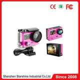 360 graus Action Sports Camera com 2 Screens e Video 4k HD 1080P 60 Frames Video 30m Waterproof