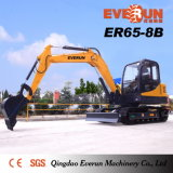 Everun Marque Er80-8b Pelle Sur Chenilles avec Ce