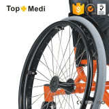 Basketball Guard를 위한 Topmedi Medical Equipment Sports Wheelchair Basketball Aluminum Wheelchair