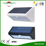 屋外の照明高い明るさの三角形防水36PCS SMD2835 LEDの太陽庭ランプの動きセンサーの壁ライト