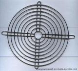 PVCは軸クロムによって溶接されたワイヤーか排気の産業ファングリルの監視に電流を通した