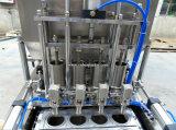 Máquina plástica líquida de Sealling do copo do controle de Digitas do chá verde