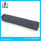 Магнит мотора феррита формы дуги для вентилятора потолка