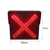 Lumière led verte rouge de feux de signalisation de voie de station élevée de péage