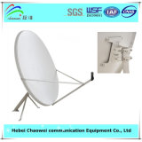 밖으로 Door Offset Satellite Dish Antenna 90cm Ku Band