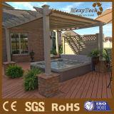 Pergola di legno composito del giardino con il requisito basso di MOQ
