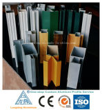 Extrusions en aluminium d'industrie avec de divers modèles