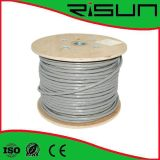 Cu/CCA/Tc Conductor (PVC+PE) Jacket UTP Cat5e con Steel Wire