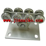Rotella a mensola d'acciaio del cancello per il portello del carrello