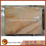 Countertop Wall Tile를 위한 가져온 Funcy Giallo Quartzite Stone Slab