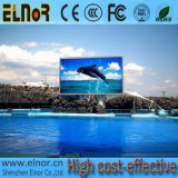 Sinal ao ar livre do indicador de diodo emissor de luz P8 com a alta qualidade para o vídeo