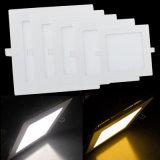 Indicatore luminoso di comitato caldo di vendita 9W LED, indicatore luminoso di comitato quadrato del LED, indicatore luminoso di comitato bianco dell'alloggiamento LED