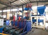 Vollautomatischer hydraulische Presse-nicht Schwingung-Ziegelstein-Block, der Maschinen herstellt