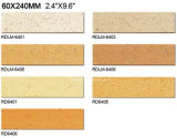 Exterior Wall Brick 60*240mm Rdlm6406のための粘土Split Tile