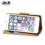 Cas en cuir universel de téléphone cellulaire d'unité centrale pour l'iPhone 7