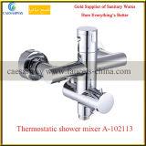 Messingchrom-gesundheitliches Ware-Badezimmer-thermostatischer Dusche-Hahn-Mischer