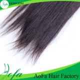 100%のブラジル人のバージンの直毛のRemyの人間の毛髪の拡張